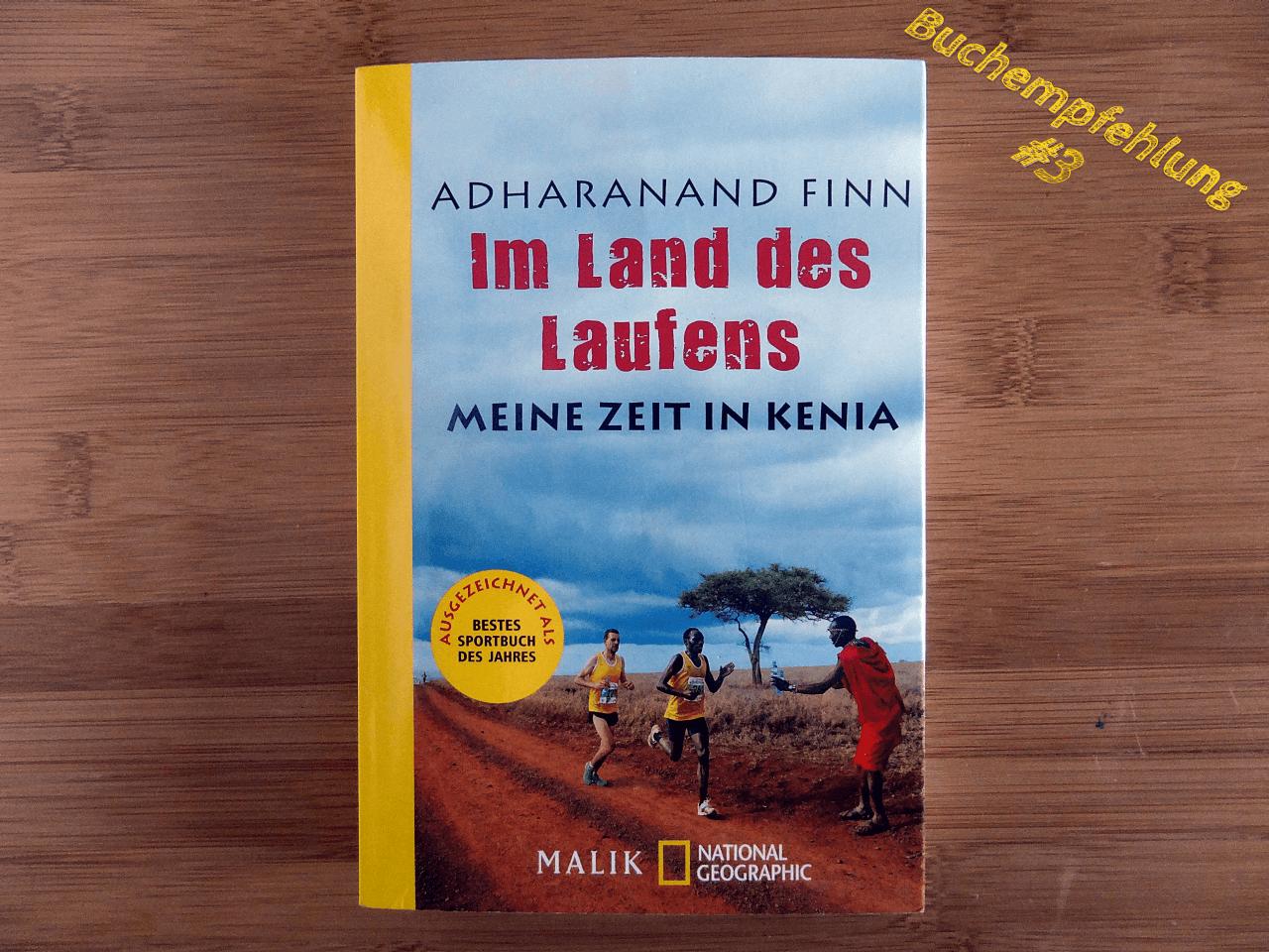 """Hier sehen Sie das Cover des Buchs """"Im Land des Laufens"""""""