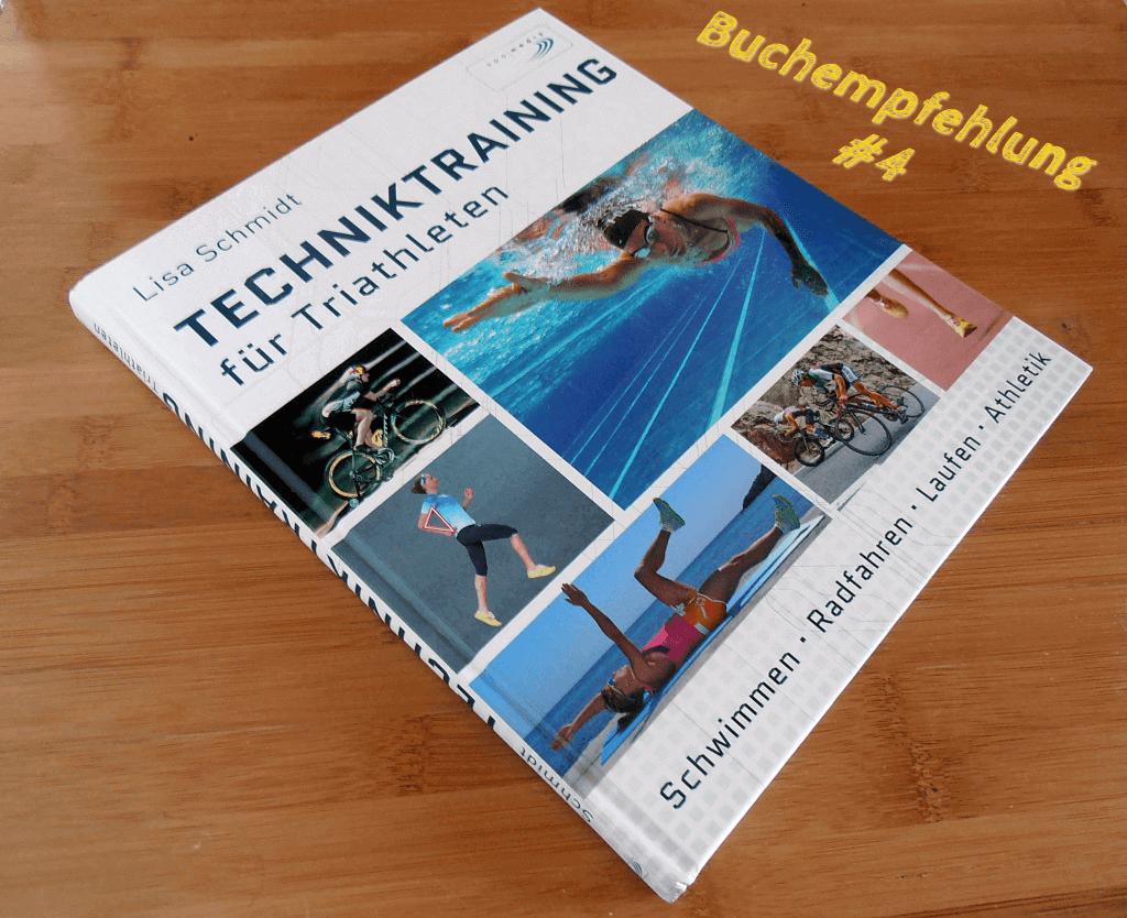 """Das Buchcover von """"Techniktraining für Triathleten"""""""