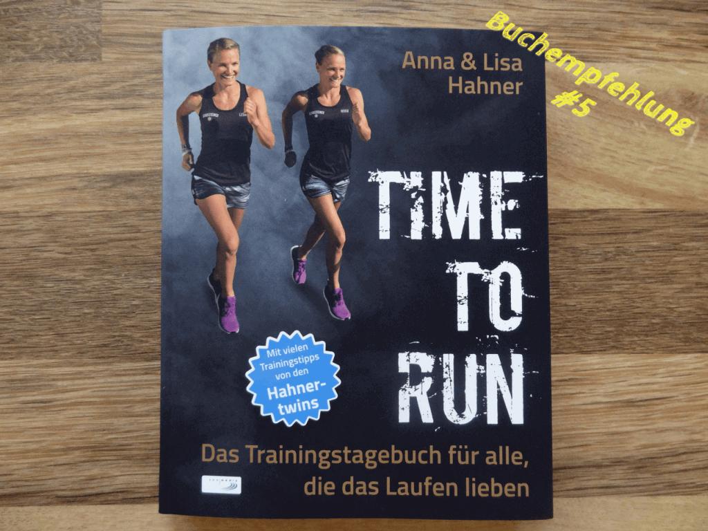 """Das neue Buch """"Time To Run"""" von Anna und Lisa Hahner"""