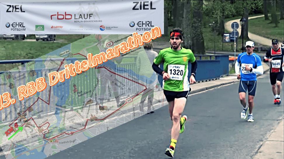 13. RBB-Drittelmarathon Potsdam