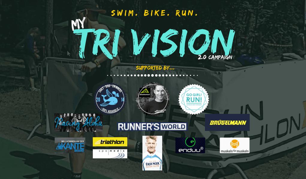 Triathlon Kampagne Logo