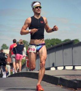 Florian Bögge macht Triathlon