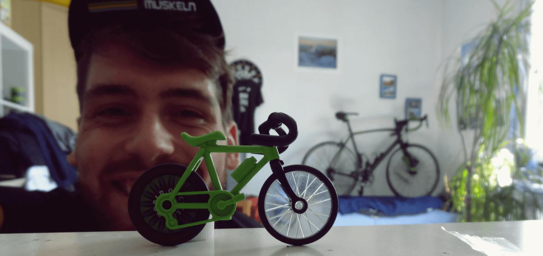 Sören und seine Passion Rennradfahren