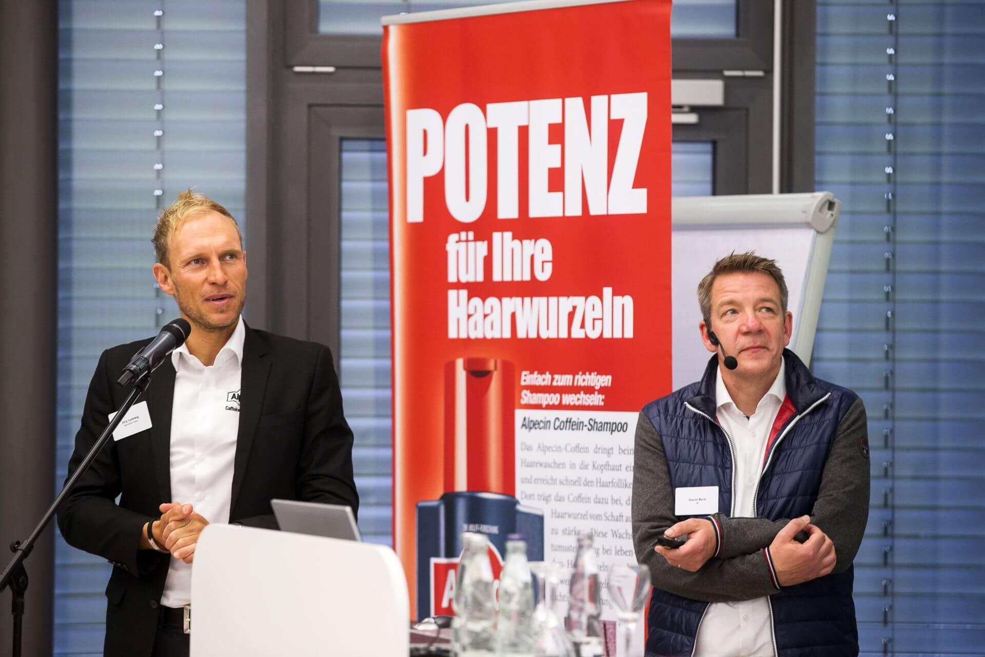Coach Jörg Ludewig und Daniel Beck