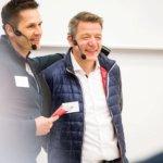 Daniel Beck und Jörn als Moderatoren